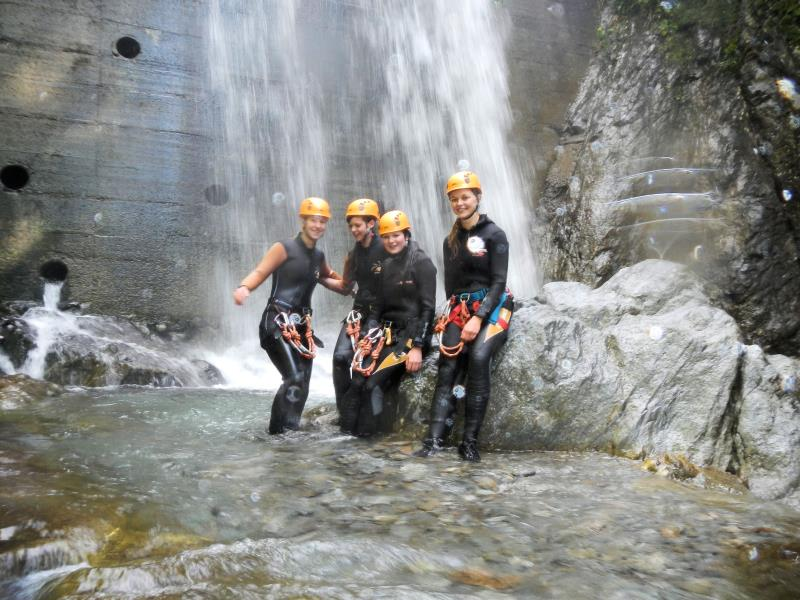 Canyoning mit Guide